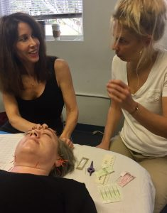 Michelle Gellis teaches Facial Acupuncture