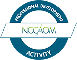 Approved NCCAOM professional development activity (PDA)